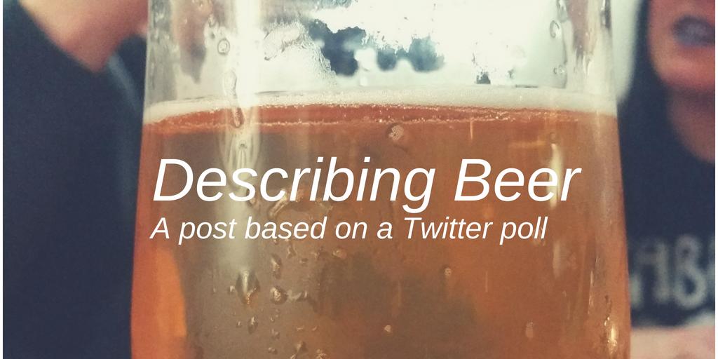 Describing Beer
