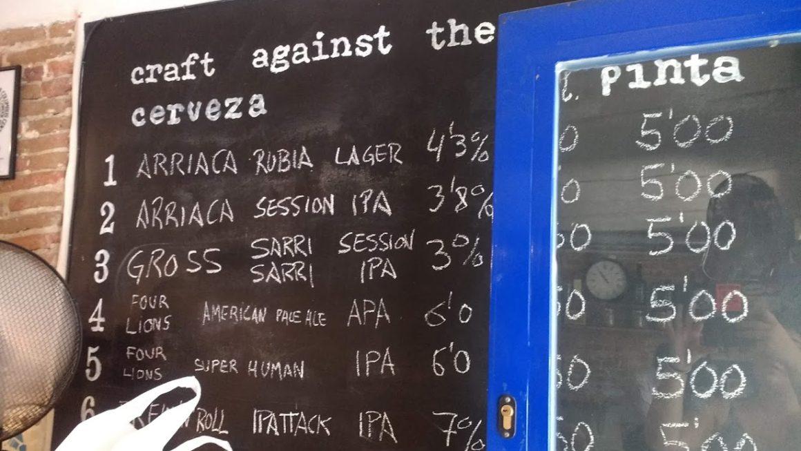 Cerveza Artisanale